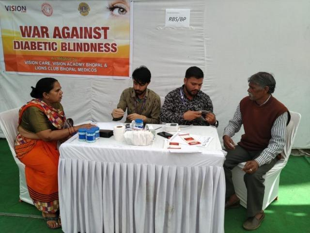 War against diabetic blindness in Central India