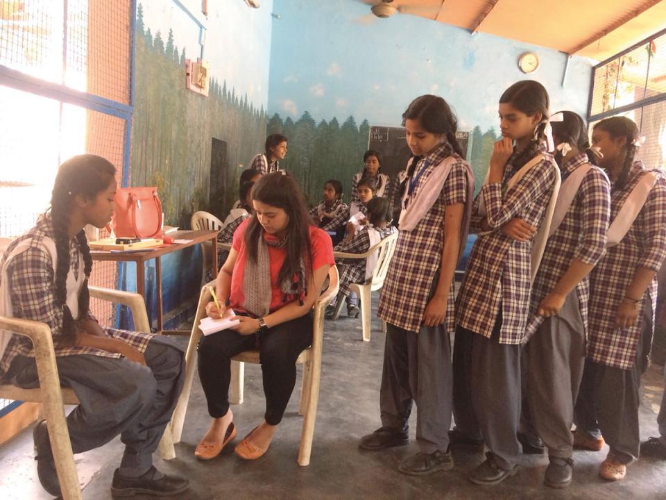 School Screening Camp